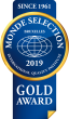 Monde Selection - Gold Quality Award 2019 (Blue version)